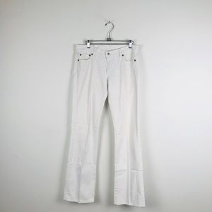 Lucky Brand Off White Sundown Denim Jeans 8/29
